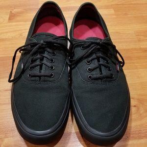 Vans Black Skateboard Shoe Pro Classic Punk Goth